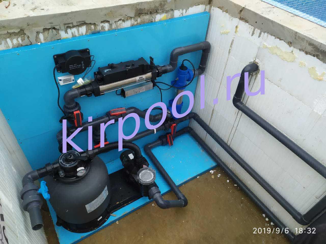 Готовые комплекты оборудование для бассейнов от КирПул